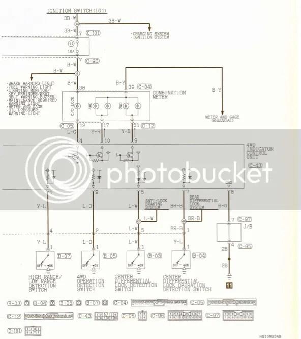 mitsubishi pajero wiring diagrams mitsubishi montero stereo wiring