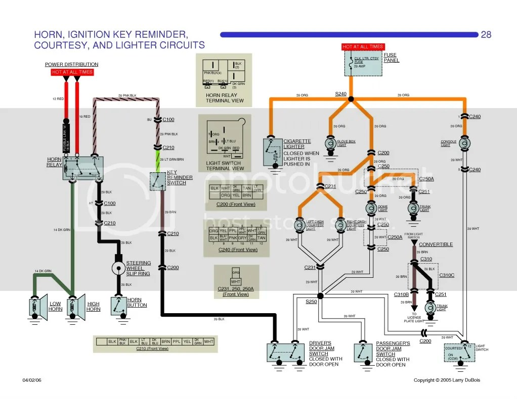 1964 Chevelle Horn Relay Wiring Diagram - My Wiring Diagram on