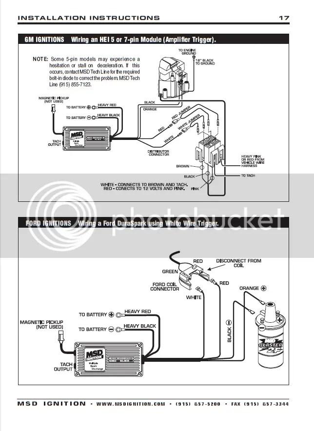 msd ford ready to run distributor wiring diagram blow through tbi