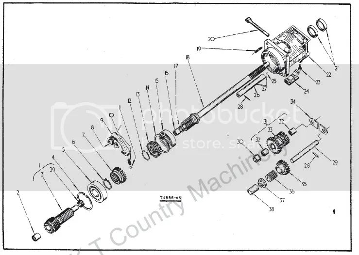 international harvester 434 wiring diagram