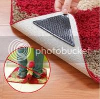 4+4 Rug Carpet Pad Underlay Tape Ruggies Rug Grippers ...