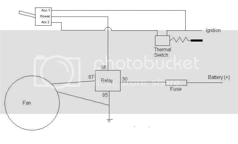 Thermo Fan Wiring - Australian 4WD Action Forum