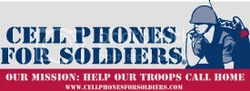 Cell Phones for Soldiers at Goin' Postal Bellevue
