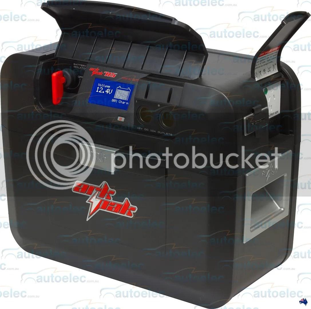 Ark Ap715 Battery Box Portable Powerpack 12v Deep Cycle