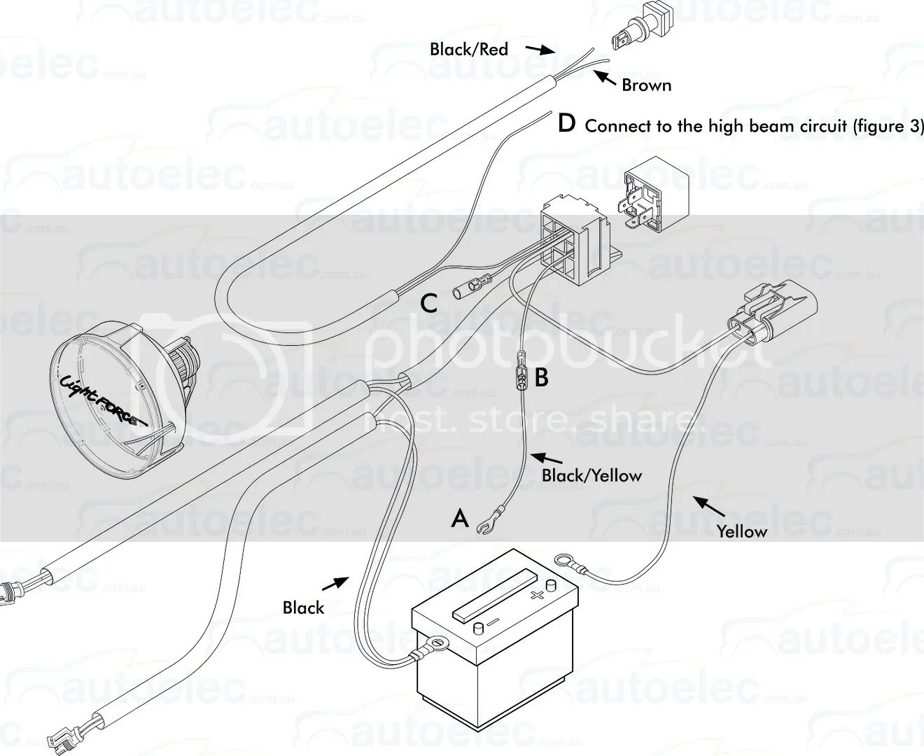 wiring diagram for lightforce driving lights