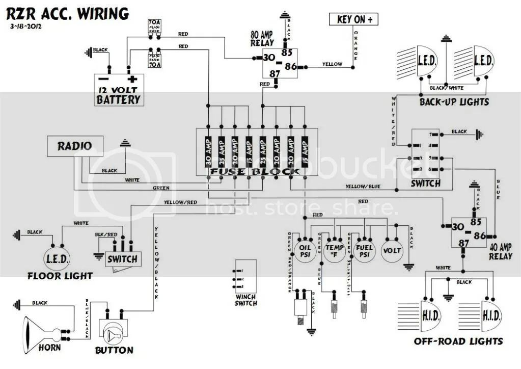 2014 polaris ranger 900 wiring diagram