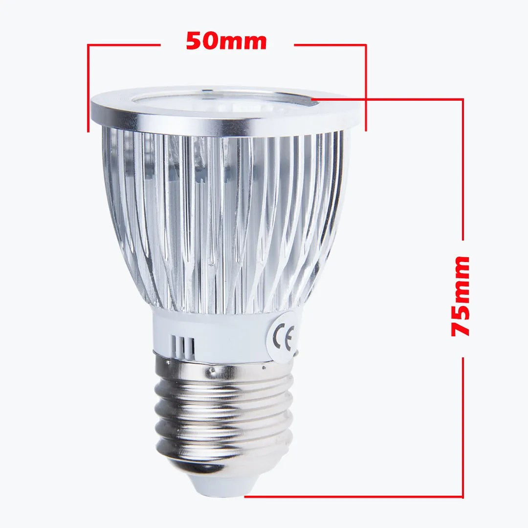 Gu10 C 6w 9w 12w E27 Gu10 Mr16 Dimmable Cob Led Spot Light Lamp