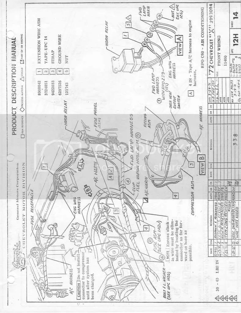 Painless Wiring Diagram 63 Nova Auto Electrical 1971 Harness 24 Images