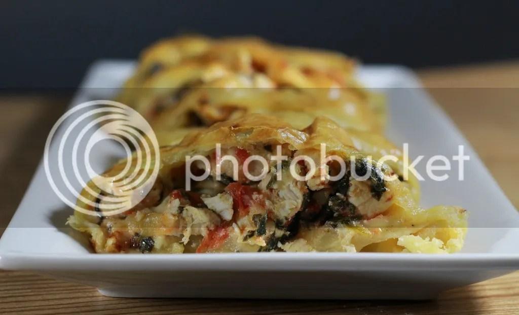 Chicken Spinach Florentine Braid