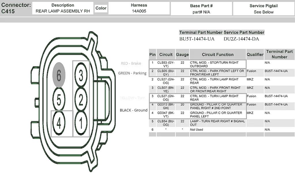 LED Rear Bumper Reflector Light Installation Guide