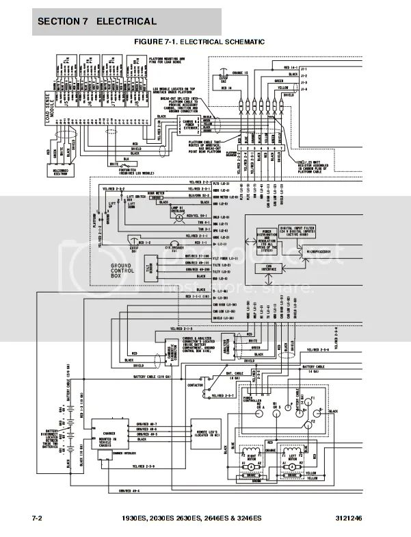 wiring diagram lift