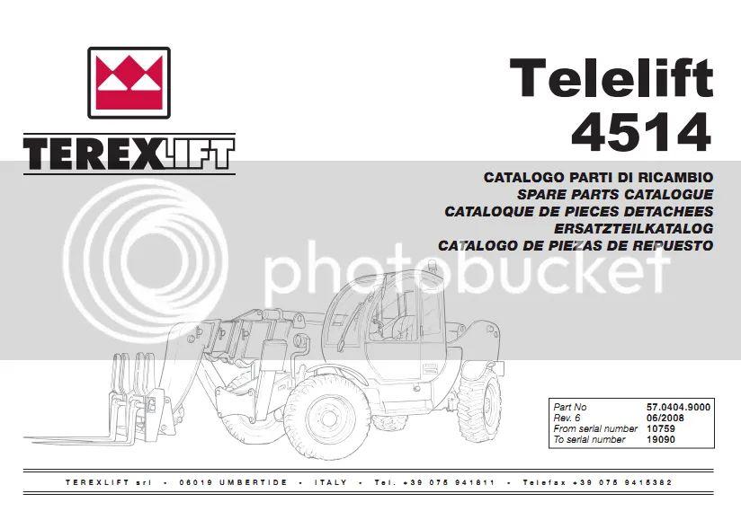terex pt30 wiring diagram