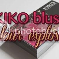 """KIKO colour explosion blush """"01 Wild sienna"""""""