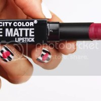 CITY COLOR BE MATTE LIPSTICK MARISSA