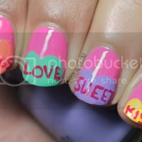 VALENTINE'S DAY SWEETHEARTS NAIL ART