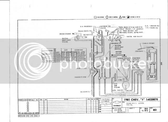 Heater control valve vacuum line 1979 - CorvetteForum - Chevrolet