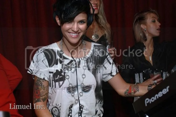 RUBY ROSE Birthday Party