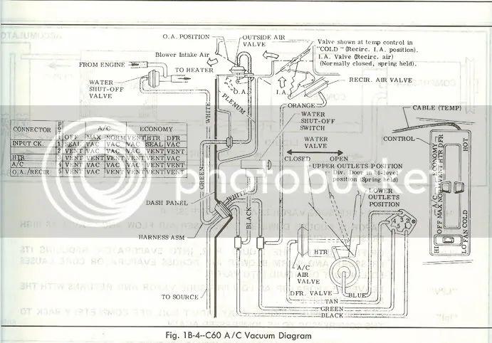1978 corvette Motor diagram