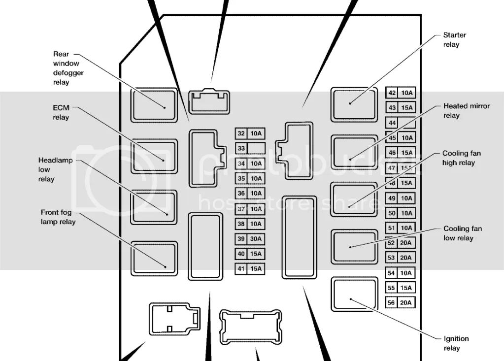 2011 nissan armada platinum fuse box diagram