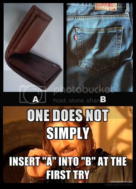 One does not simply insert