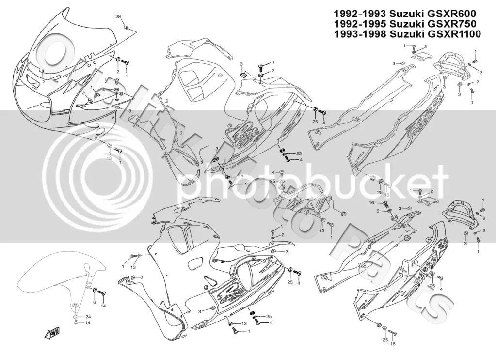 1992 gsxr 750 engine diagram