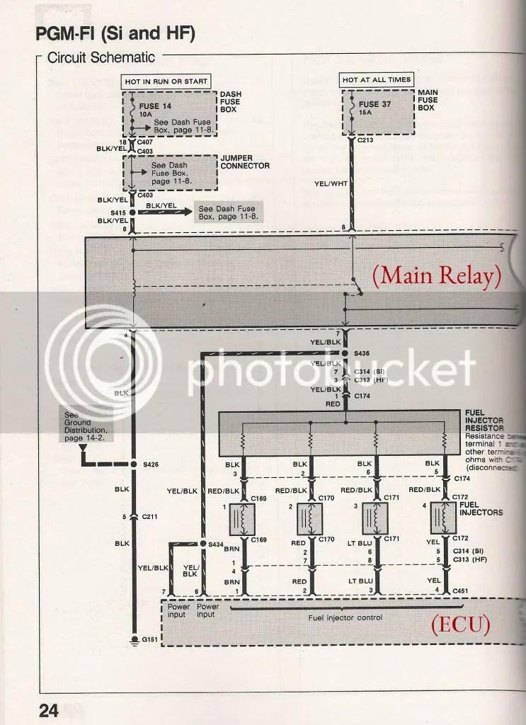1999 Honda Civic Headlight Wiring Diagram Schematic Diagram