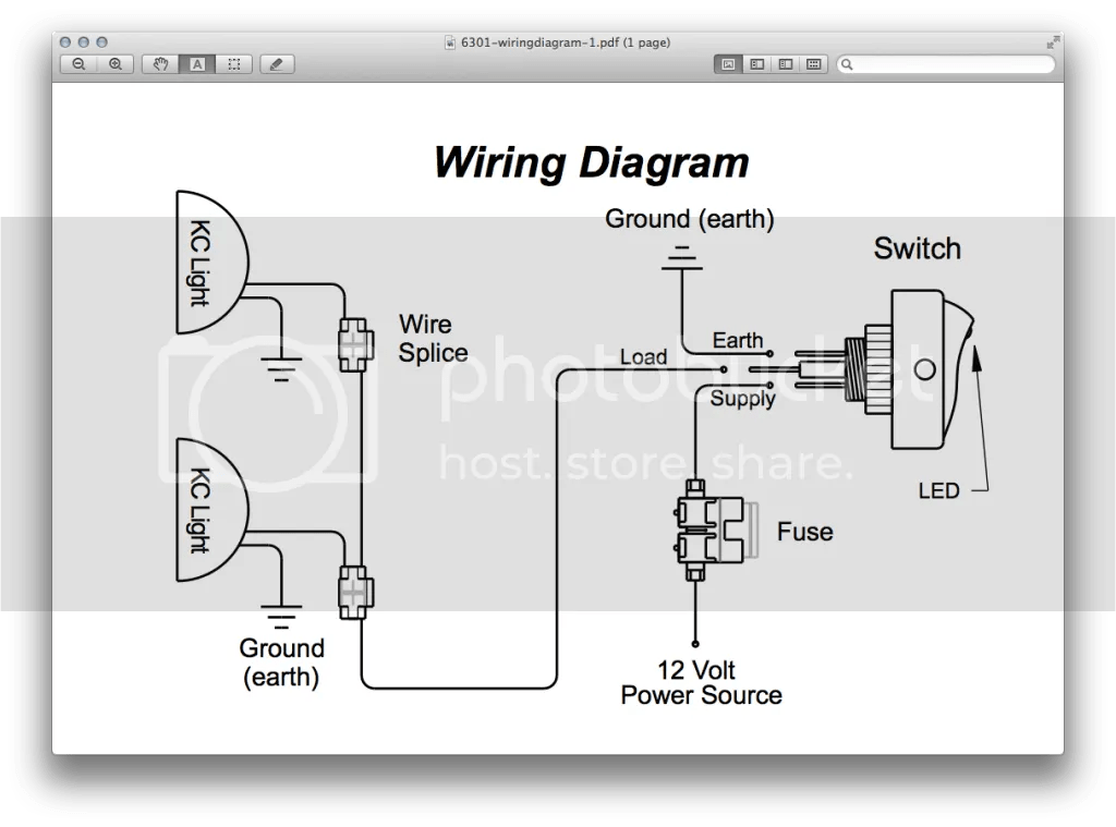 kc light switch wiring diagram