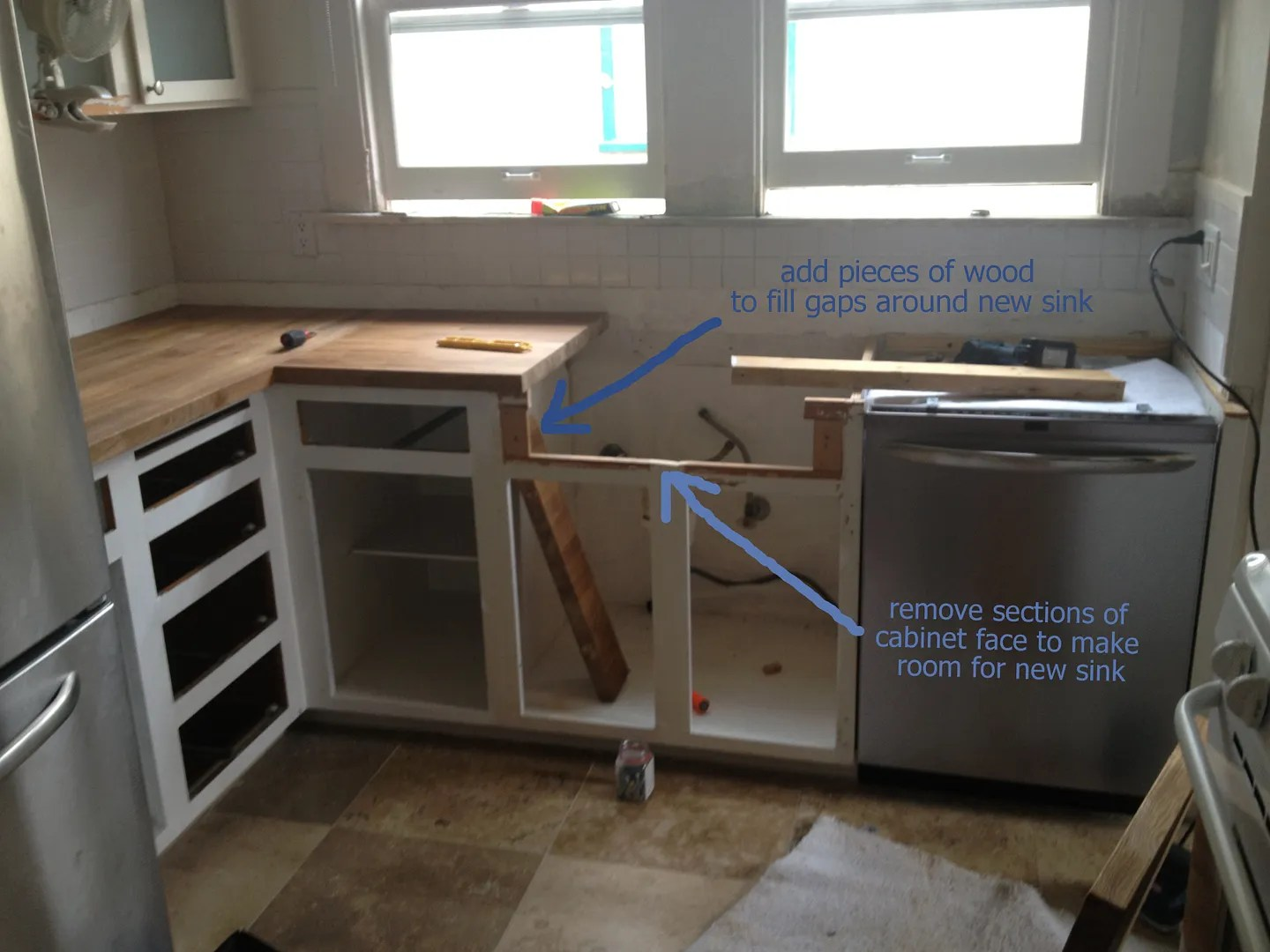 How To Install Ikea Countertops Cecibean Kitchen Remodel Week 1