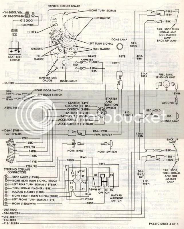 78 Dodge Wiring Diagram - 8aulzucaltermiteinsectinfo \u2022