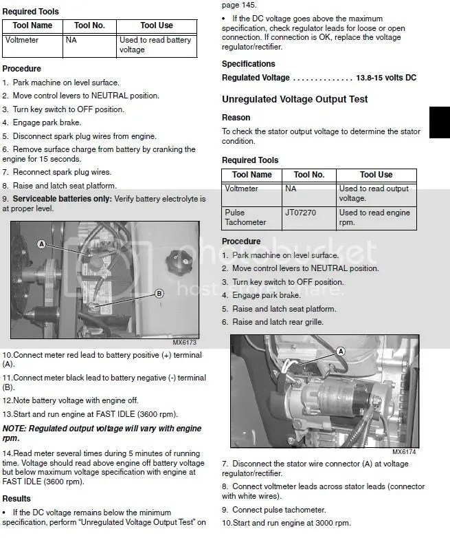 John Deere 757 Kawasaki 25HP starting problem LawnSite