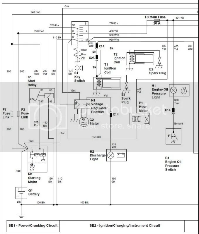 John Deere Voltage Regulator Wiring Diagram Wiring Schematic Diagram