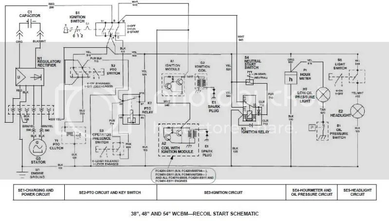 Mower Wiring Schematic Wiring Diagram