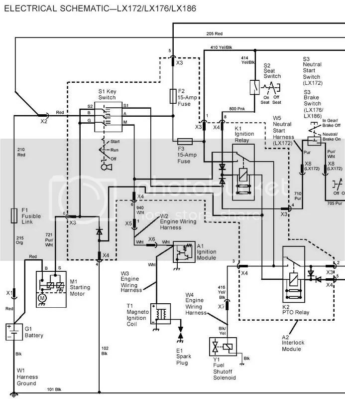 John Deere 112 Wiring Harness - Wiring Diagrams