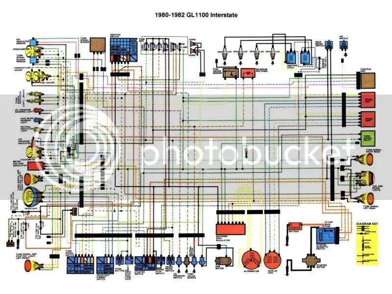 gl1100i wiring diagram