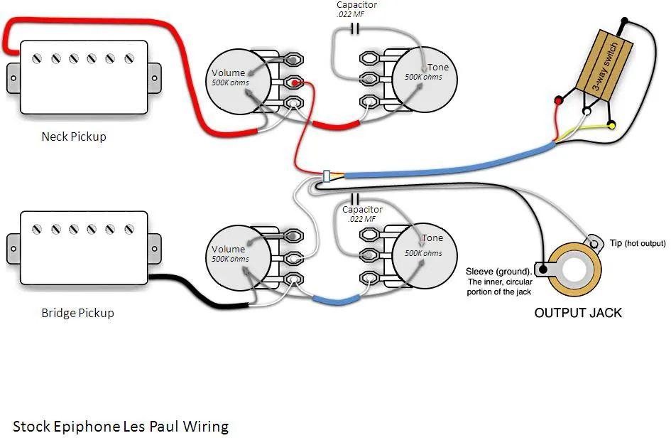 2014 les paul standard wiring diagram