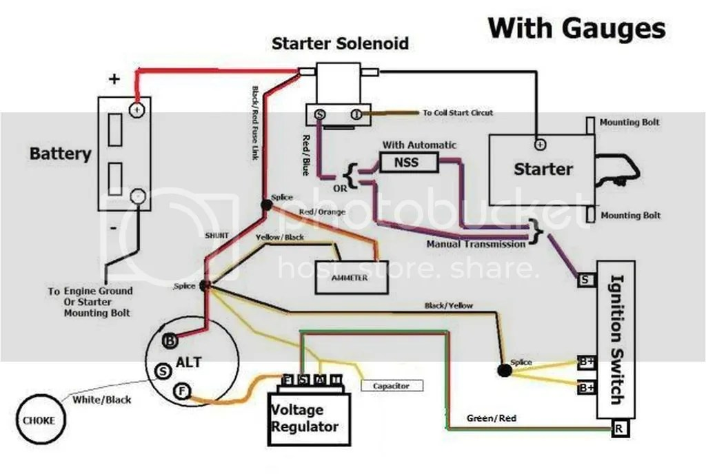 1966 F 100 Alternator Wiring Diagram - Wiring Diagram Progresif