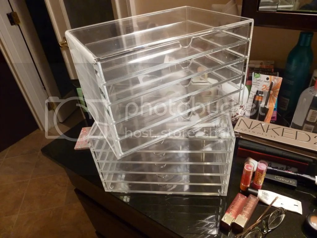 Makeup Storage Containers Acrylic Makeup Organizer Storage Container W 5 Drawers