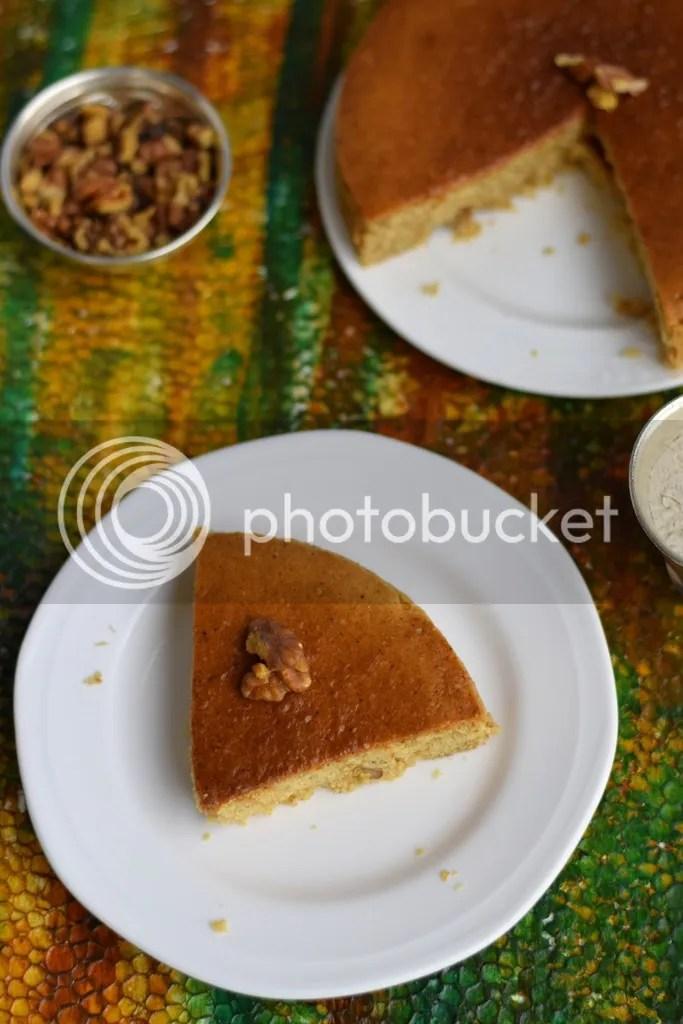 Whole wheat walnut cake 2