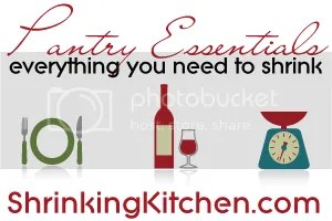 Pantry Essentials for Shrinking