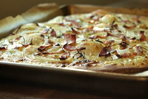 Tarte Flambée | Korena in the Kitchen