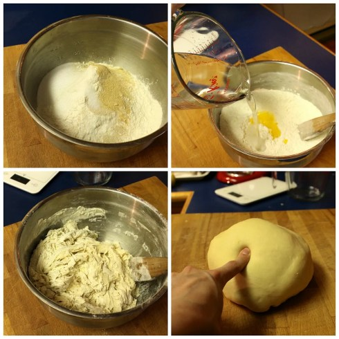 making bagel dough