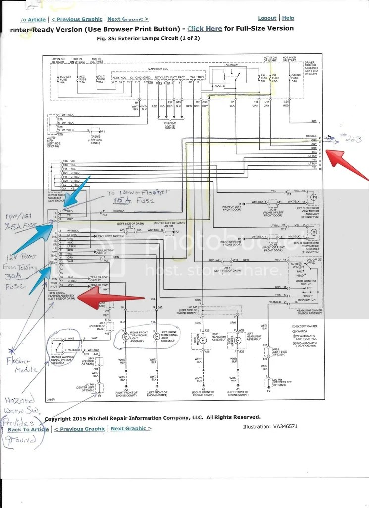 2003 4runner Fuse Diagram Wiring Diagram