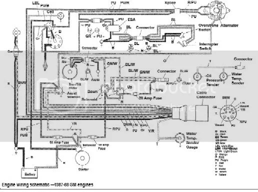 Found Generic boat wiring diagram by silvertip Picked