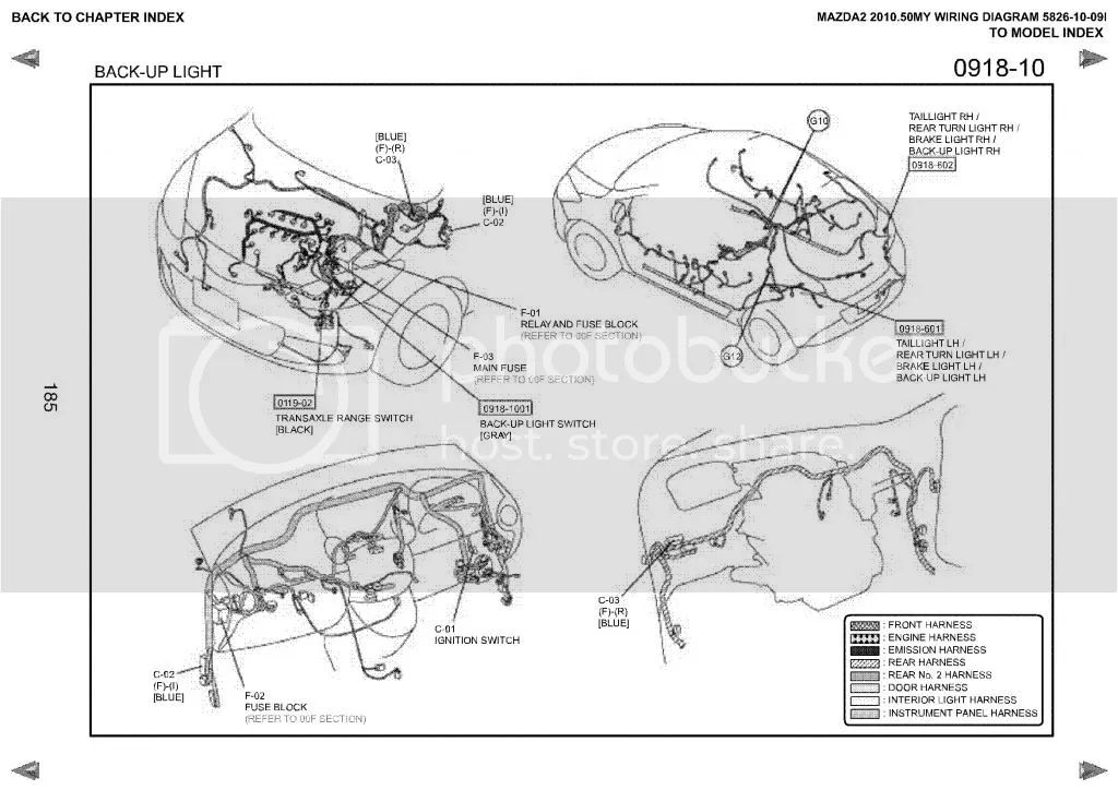 mazda 2 2013 wiring diagram