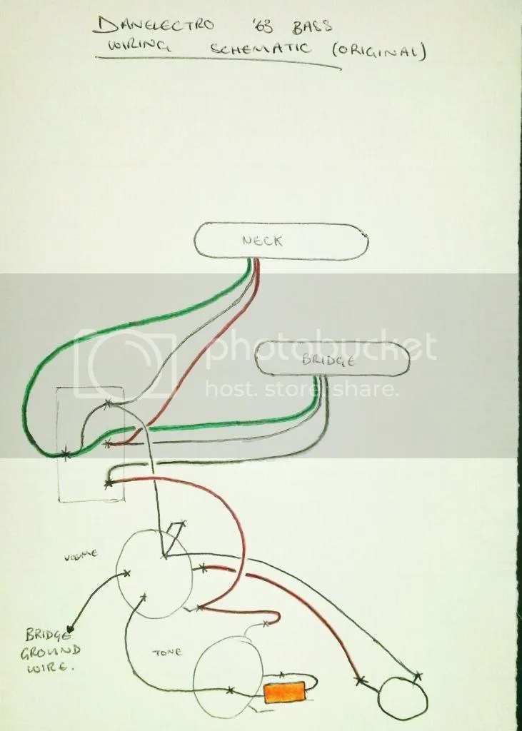 Danelectro \u002763 Custom Wiring - Help Needed The Gear Page