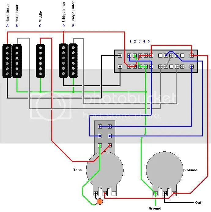 dimarzio evolution wiring diagram sg