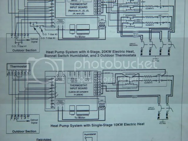 Nordyne Thermostat Wiring Diagram