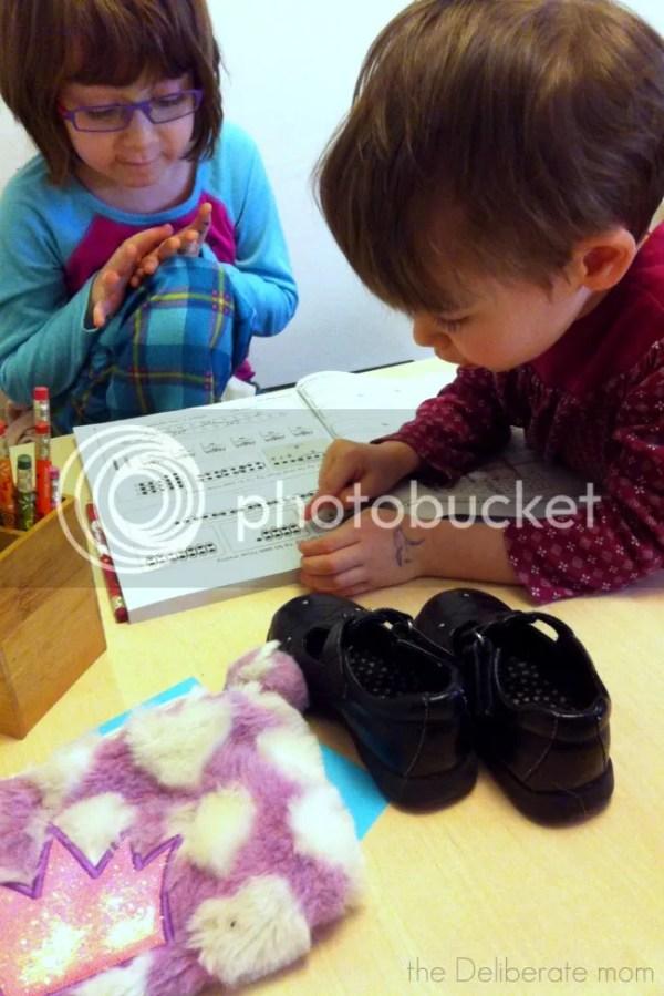 HOmeschooling moments