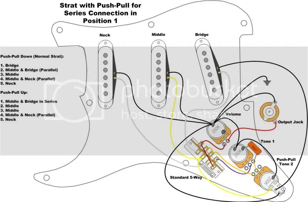 ground wire diagram fender stratocaster