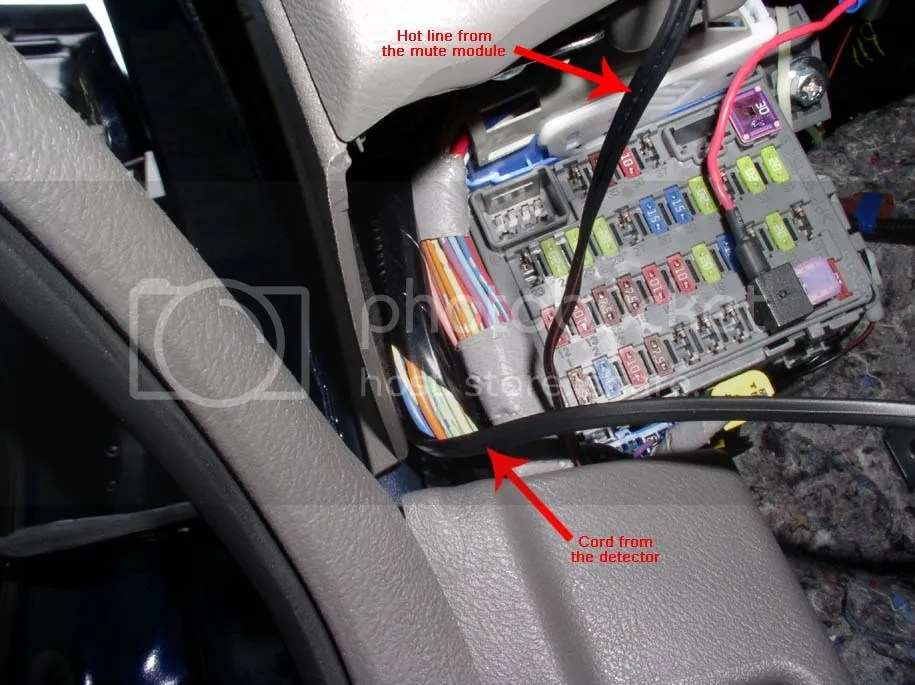 DIY Radar Detector Hard Wire to Fuse Box - 8th Generation Honda